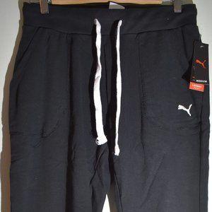 Puma cotton lounge pants black XL